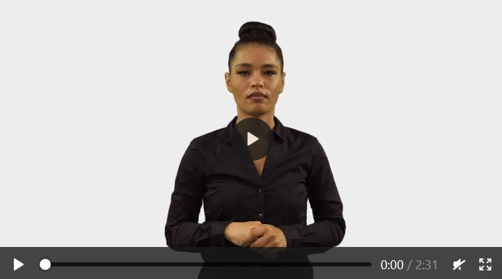 Link zu einer Videosammlung in Gebärdensprache